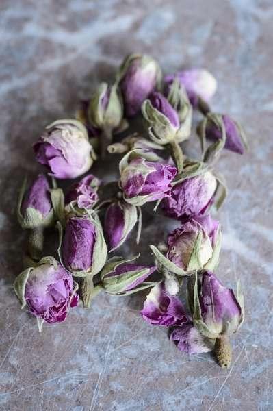 Organic rose buds